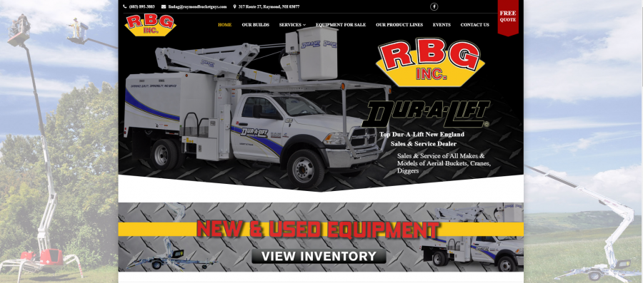 New Used Aerial Lifts Bucket Trucks For Sale Rentals RBG Inc.