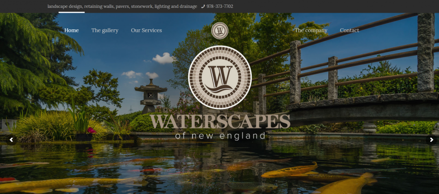 Waterscapes Of New England Ponds Patios Stone Walls Hardscape design MA